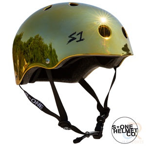 S1 Lifer Helmets - Gold Mirror