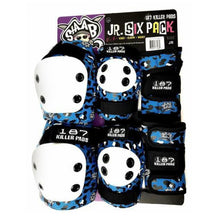 Load image into Gallery viewer, 187 Killer Pads Jr. Six Pack Sets. Click for options
