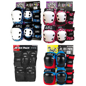 187 Killer Pads Jr. Six Pack Sets. Click for options