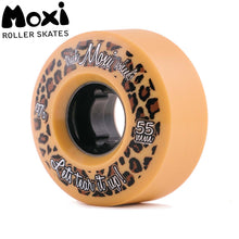 Load image into Gallery viewer, MOXI TRICK WHEELS (4) - CREAM / TAN 55mm/97A