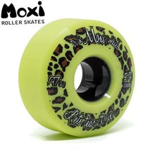 Load image into Gallery viewer, MOXI TRICK WHEELS (4) - LIME GREEN 59mm/97A