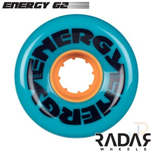 RADAR WHEELS (4) - ENERGY 62mm x 32mm 7 coulours
