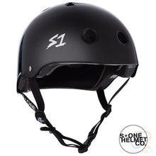 Load image into Gallery viewer, S1 Lifer Helmets - Black Gloss
