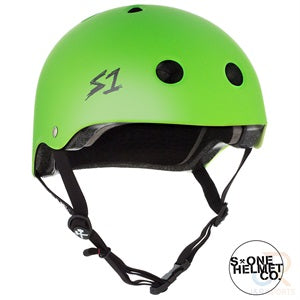 S1 Lifer Helmets - Lime Matt