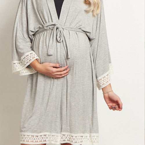 Maternity Or Nursing Lace Nightgown