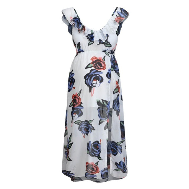 Tania Floral Maxi Maternity Dress