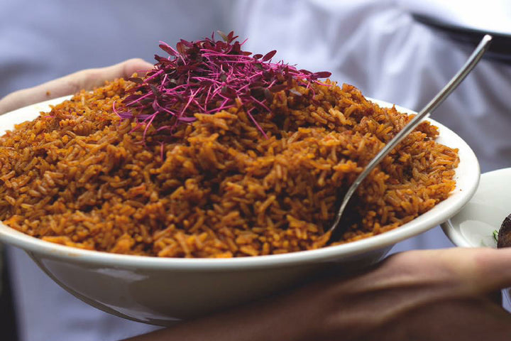 Ready Meals Delivered | Jollof Rice