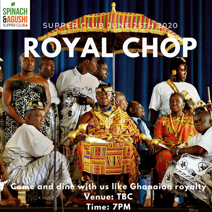 Supper Club June 25th 2020 - Chop Like a King