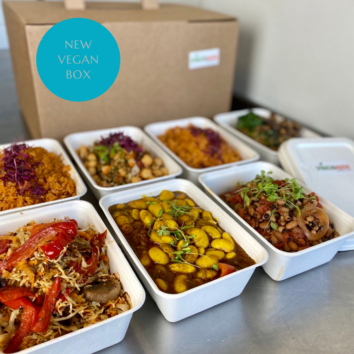 Ready Meals Delivered | Vegan Package