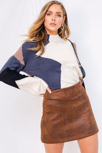 GIA COLORBLOCK SWEATER