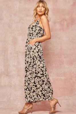 KELLY FLORAL MAXI DRESS