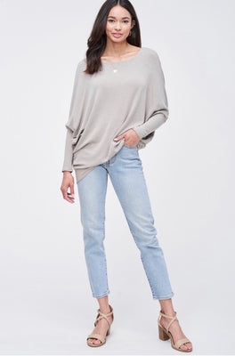 EMERSON DOLMAN SLEEVE TOP