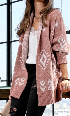 LUCY SOFT SWEATER CARDIGAN