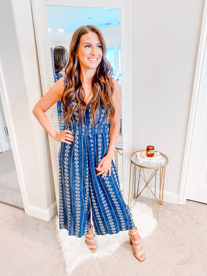 TARA WIDE LEG JUMPSUIT