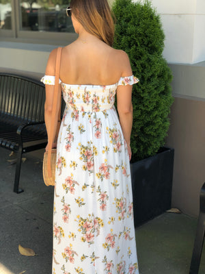 ENSLEY FLORAL MAXI DRESS
