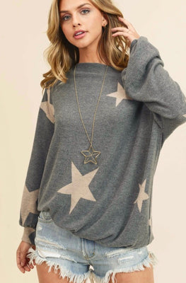 CANDACE DOLMAN SLEEVE TOP