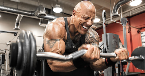 New Year Resolution Weight Loss With Dwayne Johnson and Sarmsamerica