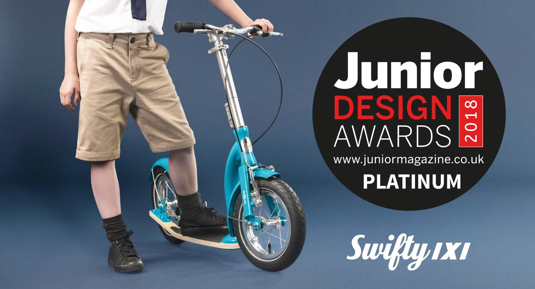 kids scooter, award winning scooter, swifty scooters, kids scooter with big wheels