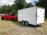 2019 Carry-On 7X16CGRCM7K Cargo Trailer with Extra Height