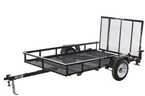 New 2019 Carry-On 5 X 8 G Mesh Utility Trailer