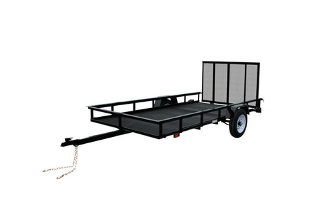 New 2019 Carry-On 5 X 10 G Mesh Utility Trailer