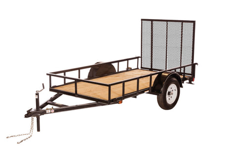 New 2019 Carry-On 5 X 10 GW Treated Wood Utility Trailer