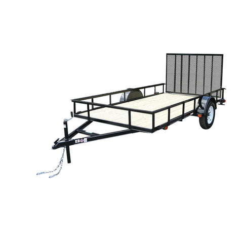 New 2019 Carry-On 6 X 10 GW Treated Wood Utility Trailer