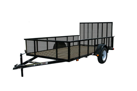 New 2019 Carry-On 6 X 12 GWHS Treated Wood Utility Trailer with High Walls