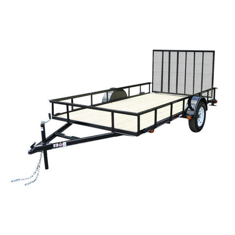 New 2019 Carry-On 6 X 12 GW Treated Wood Utility Trailer