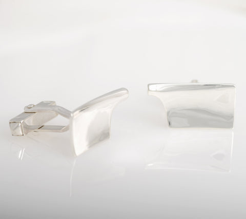"Rowing cufflinks ""Blades of Glory"" Sterling Silver"
