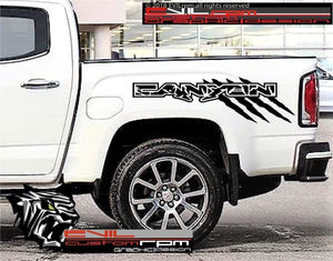 Side Pickup Bed Custom Decal Sticker Graphics kit for GMC