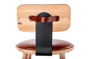 Wray Stool with back