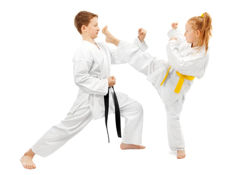 White Martial Arts Uniform