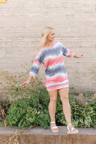 Copy of Berry Tie Dye Dress