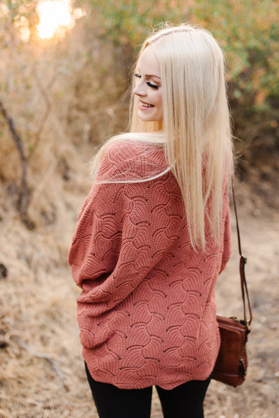 Copy of Seasons of Change in Ginger Dolman Sweater