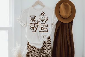 *Love Coffee tee
