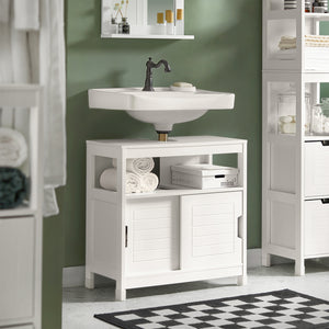 SoBuy Vanity Unit For Washbasin Vanity Unit Washbasin Vanity Unit Washbasin White Frg128-W