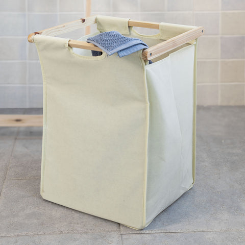 SoBuy Laundry Basket Basket Dirty Cloths Laundry Basket Wood Frg160-N