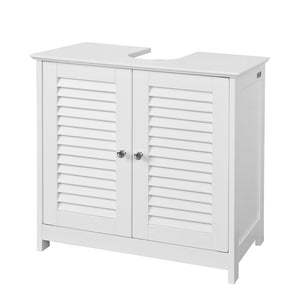 SoBuy Bathroom Cabinet Column Bathroom White Bathroom Drawer With Drawers Frg237-W