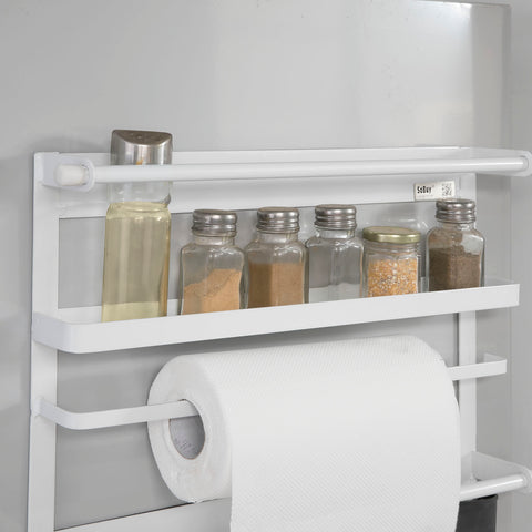 SoBuy space-saving refrigerator containers kitchen refrigerator shelf FRG247-W