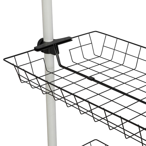 SoBuy Basket for Walk-in Closet Modular Storage Baskets, FRG34-P01, IT