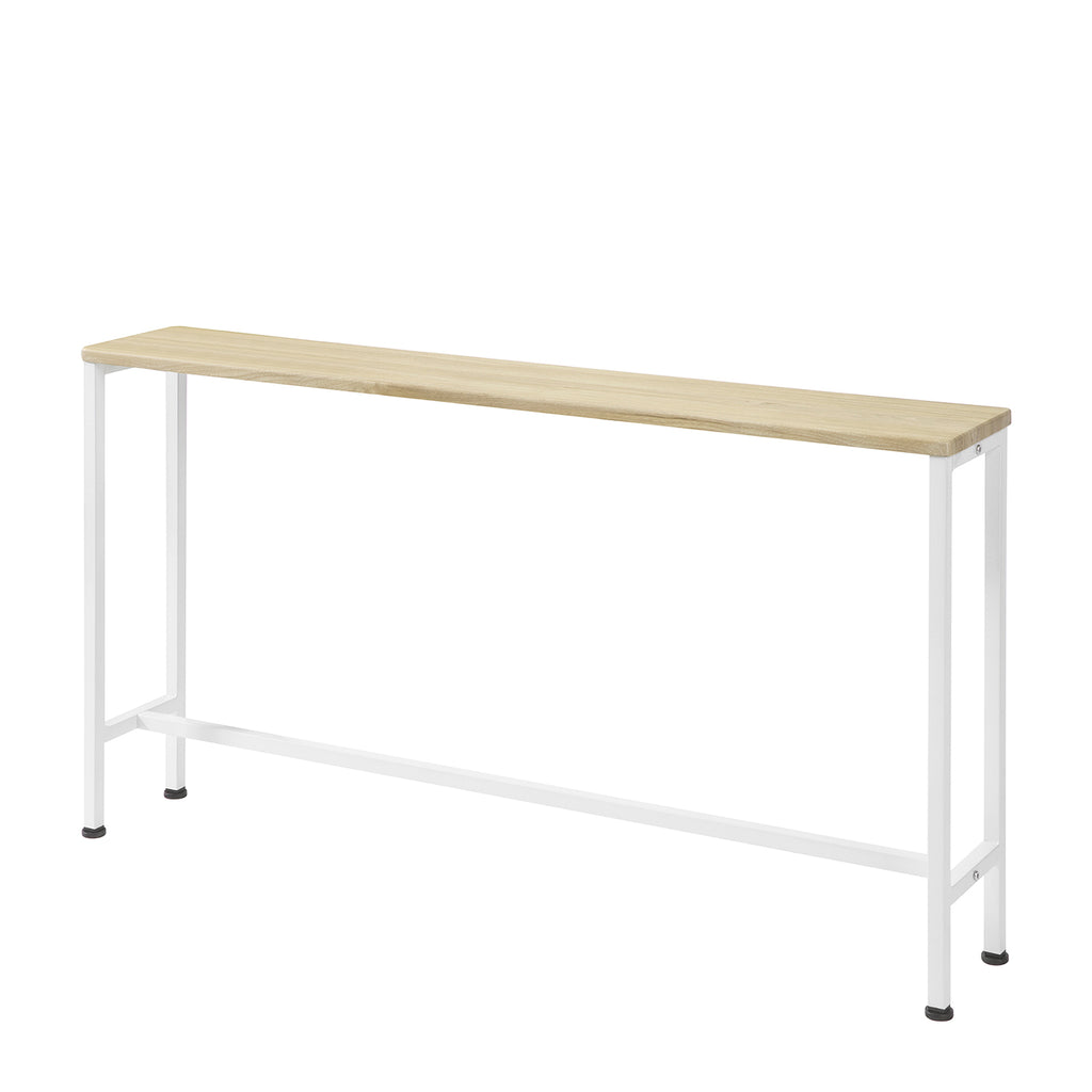 SoBuy Vintage Console Table Hallway Table Space Saving Sofa Table L120 * W20 * H65 cm Beige FSB19-Z