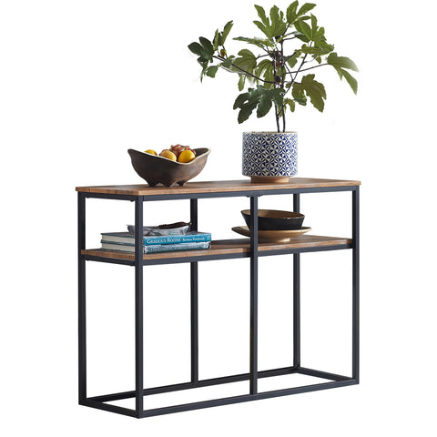 SoBuy Console Kitchen Entrance Console Table Bar Bookcase Low Console Table FSB42-Q