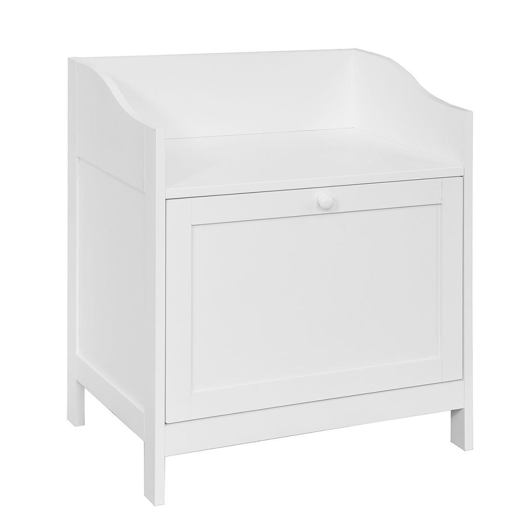 SoBuy laundry basket dirty laundry basket white laundry basket FSR51-W
