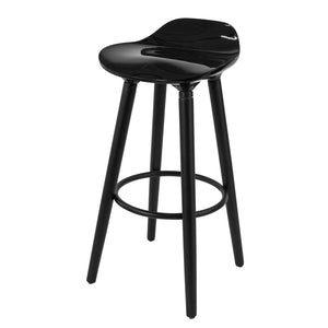 SoBuy High Stool Bar Stool Bar Stools black FST34-HEI