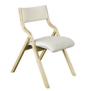 SoBuy Folding Chair Desk Chair Kitchen Chair White Fst40-W