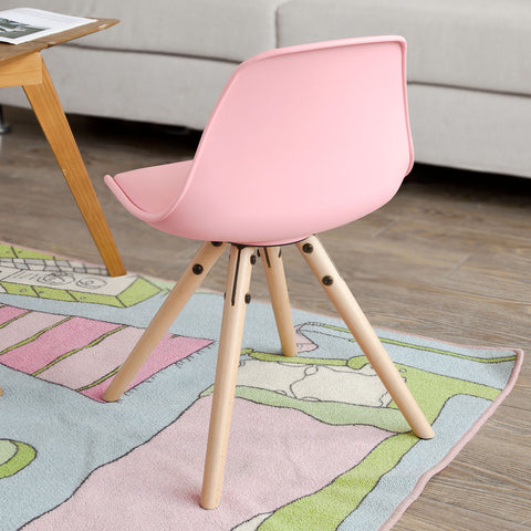 SoBuy Children's Chair Colored Chair Baby Chair Pink Fst46-P