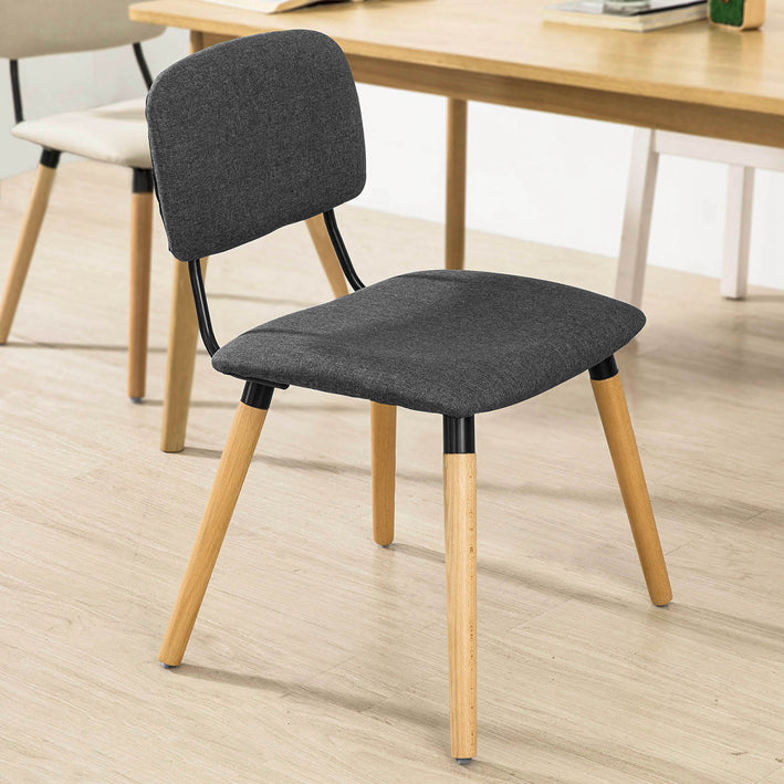 SoBuy Dining Chair Desk Chair Kitchen Chair Gray Fst54-Dg