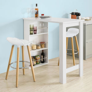 Bancone Cucina Con Sgabelli.Sobuy Set Table And 2 Stools Bar Stools Set Of 2 Kitchen Island Fwt17