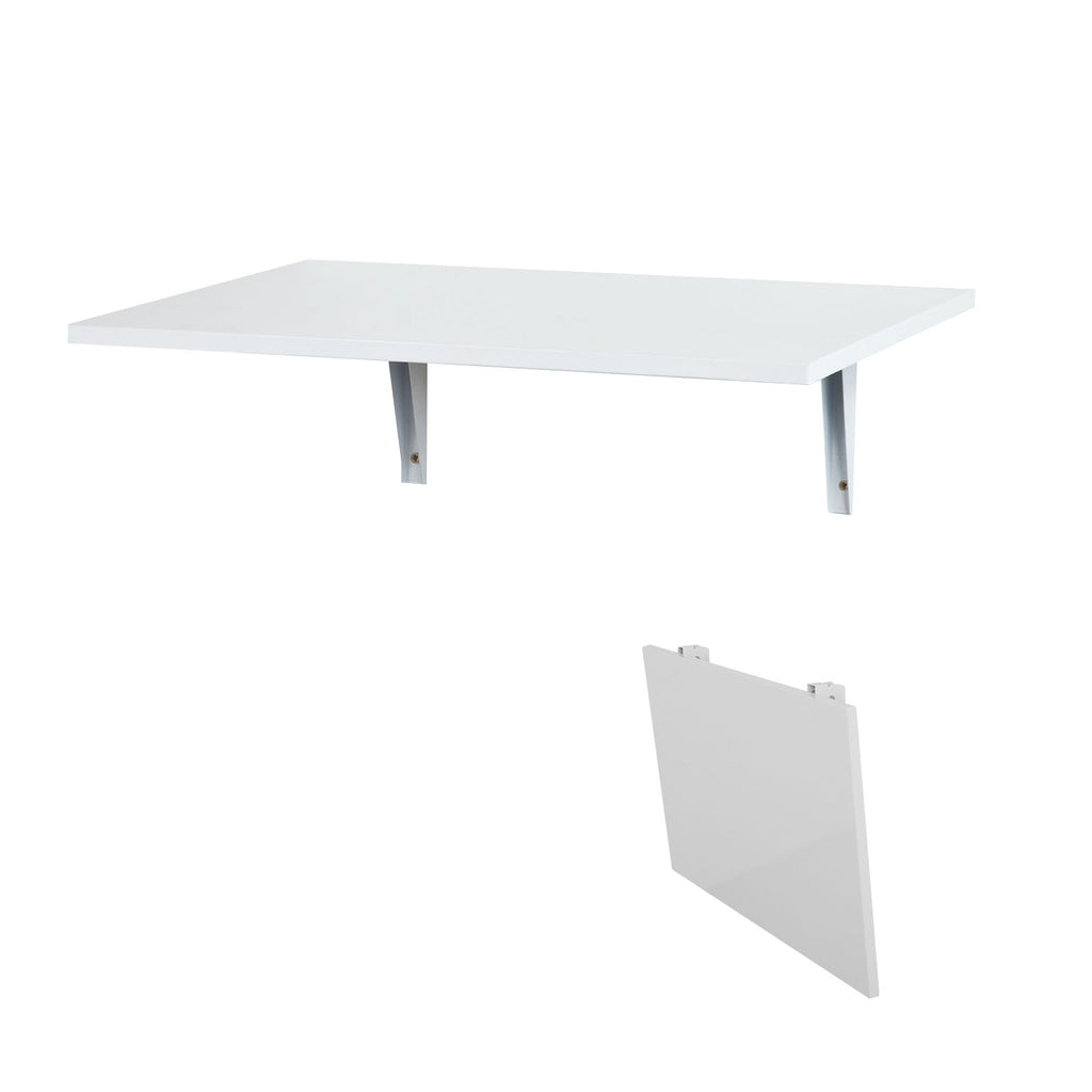 SoBuy wall table Folding Table white kitchen table FWT21-W